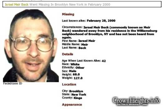 Over A Decade Later, Mystery of Missing Man Solved • CrownHeights ...
