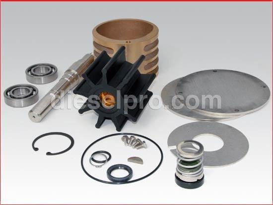 Water Pump Repair Kit for Detroit Diesel 8V149, 12V149, 16V149 ...