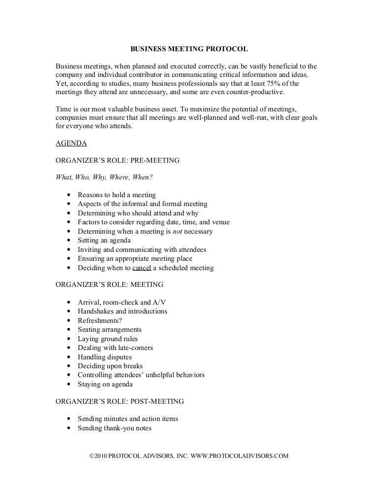 2/04 - DWC+ Teleclass -Business Meeting Etiquette: from an informal c…