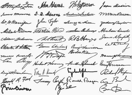 Donald Trump official signature: Trump takes a tediously long time ...