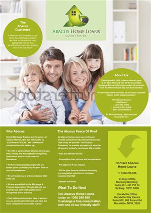 Elegant, Modern Flyer Design for Triple One Realty by Russ the ...