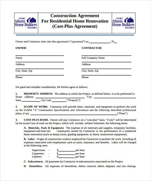 Hire Purchase Contract Example | Create professional resumes ...