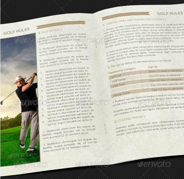 10 Best Sports Brochure Templates to Share _ FlipHTML5 Learning Center