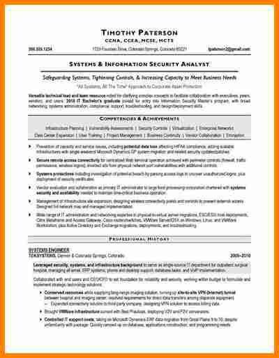 4+ information security analyst resume | budget template