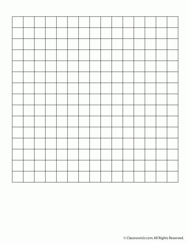 Printable Graph Paper and Grid Paper - Woo! Jr. Kids Activities