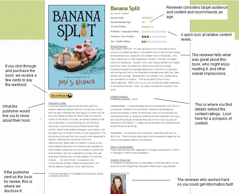 Meet A Sample Book Review | Compass Book Ratings