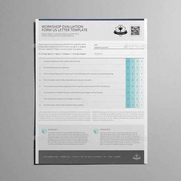 Workshop Evaluation Form Template. evaluating communication ...