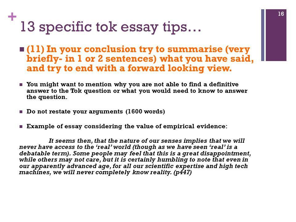 Tok essay 2015 Essential guidelines. - ppt video online download