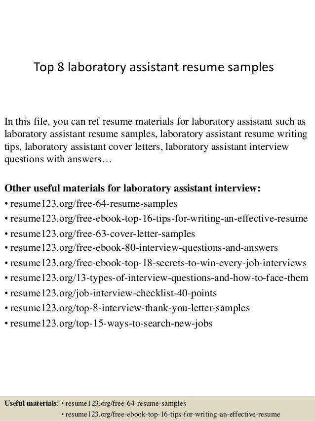 top-8-laboratory-assistant-resume-samples-1-638.jpg?cb=1427857670