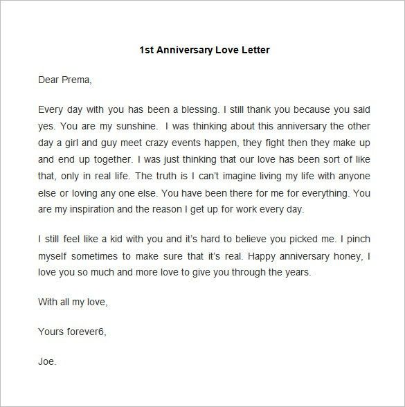52+ Love Letter Templates – Free Sample, Example Format Download ...