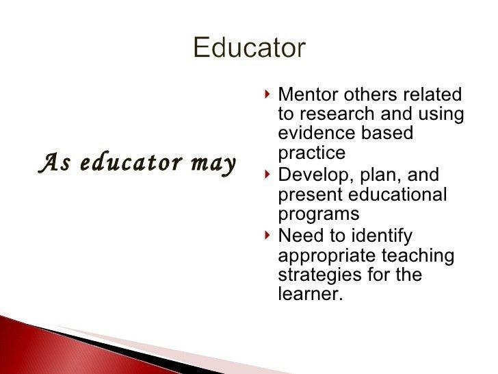 Critical Skills For The Nurse Educator