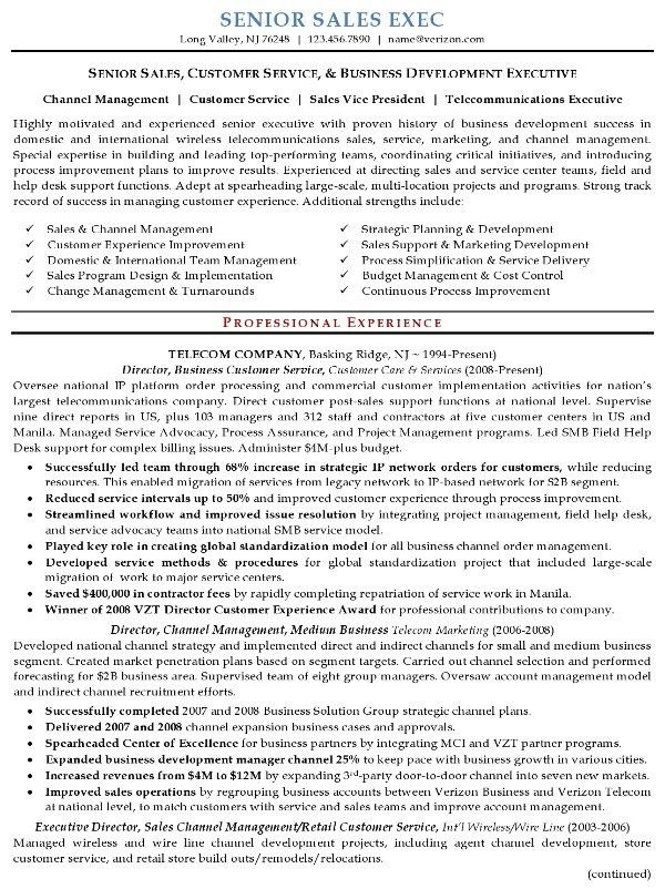 Charming Ideas Sample Executive Resume 6 Example - CV Resume Ideas