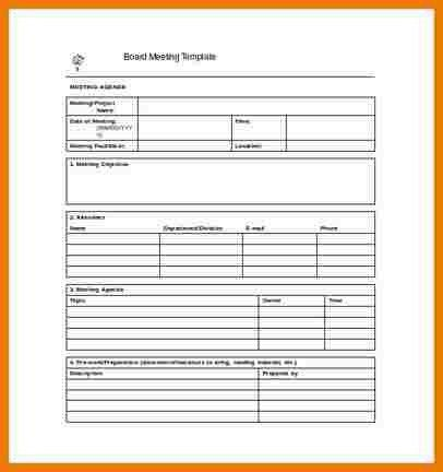 5+ meeting notes template | assistant cover letter