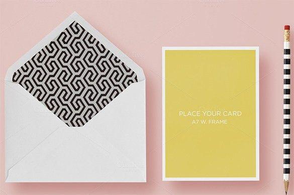 A7 Envelope Templates – 11+ Free Printable Word, PSD, PDF Format ...