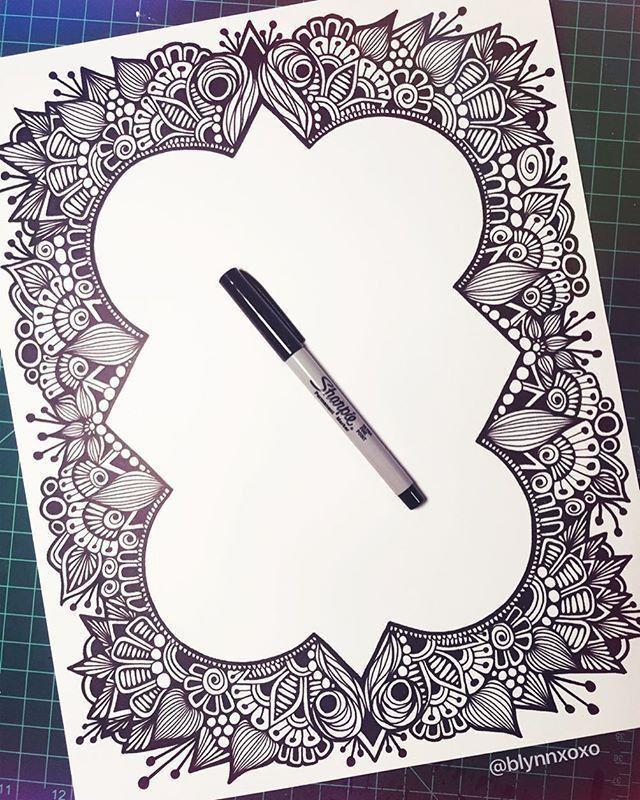 Best 25+ Border design ideas on Pinterest | Bullet drawing, Letter ...