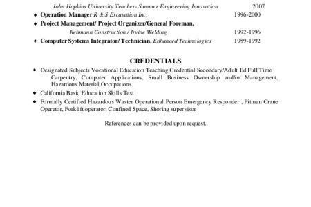 Best Non-Profit Resumes - Reentrycorps