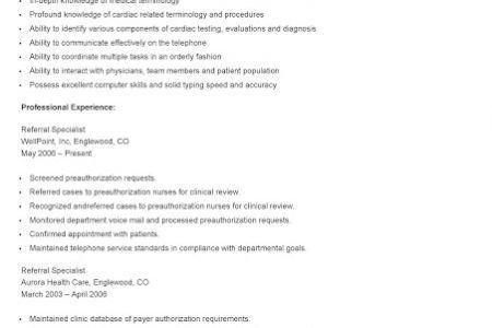 billing resume resume for academic advisor wildlife expert sample ...