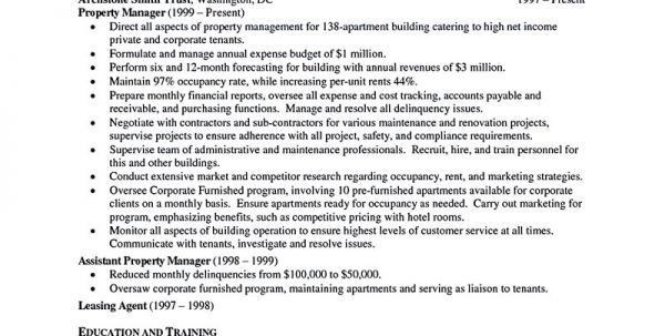 assistant property manager salary assistant property manager ...