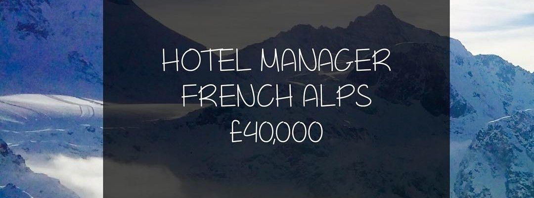 A fantastic role for a #HotelManager has become available for an ...