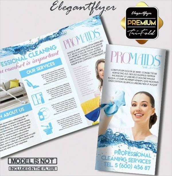 8+ Cleaning Company Brochures - Designs, Templates | Free ...