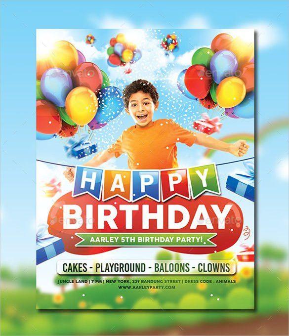 30+ Birthday Party Invitation Templates – Free Sample, Example ...
