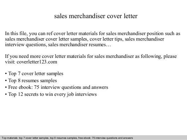 sample merchandiser cover letter download visual merchandiser