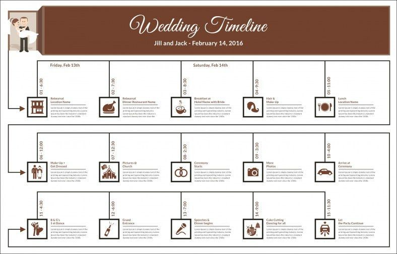 Wedding Template – 21+ Free Word, Excel, PDF, PSD, InDesign ...