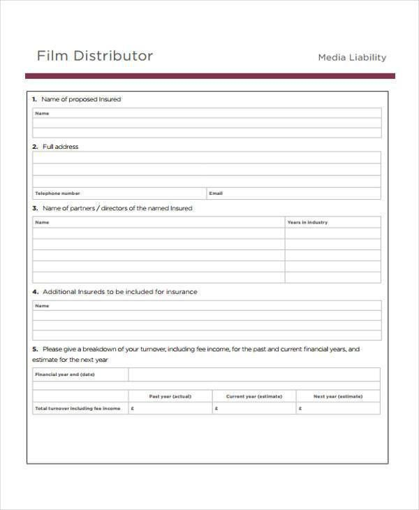 12+ Marketing Proposal Form Samples - Free Sample, Example Format ...