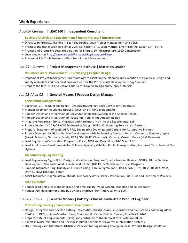 Download Powertrain Test Engineer Sample Resume ...