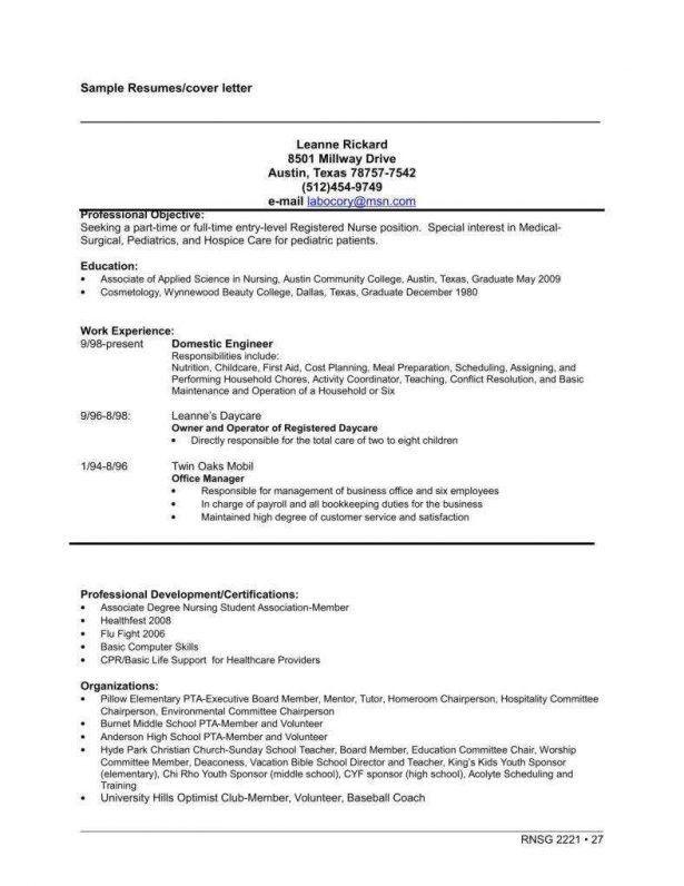 Resume : Mechanical Engineer Cv Template Documents Prepared By ...