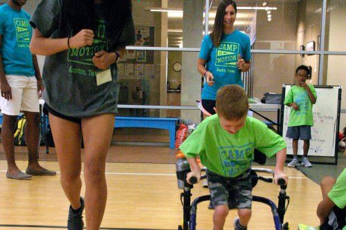 Camp in Motion - Cerebral Palsy Adaptive Sports Summer Camp