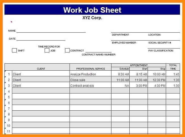7+ daily work report format in excel | nurse resumed