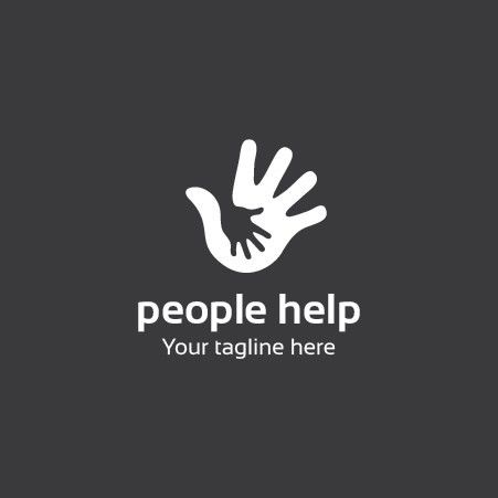 People Help Logo Template for $5!