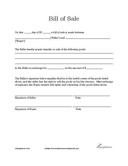 896 best printable agreement images on Pinterest | Templates, Bill ...