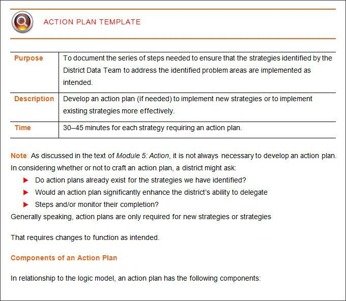 Corrective Action Plan Template - 20+ Free Word, Excel PDF Format ...