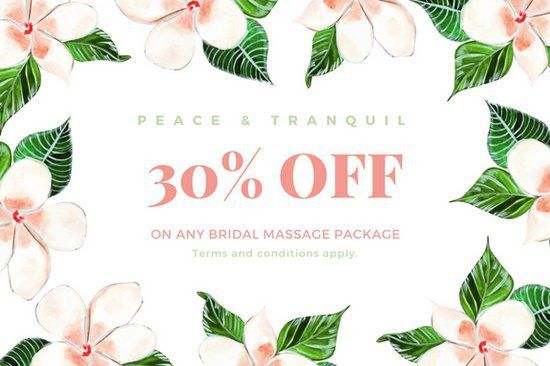 Massage Gift Certificate Templates - Canva