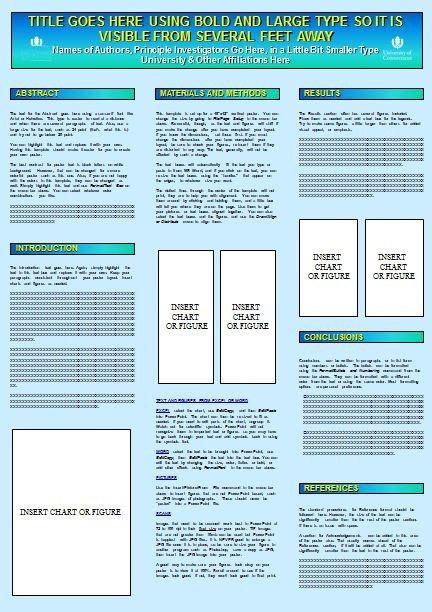 poster presentation template vertical free powerpoint scientific ...