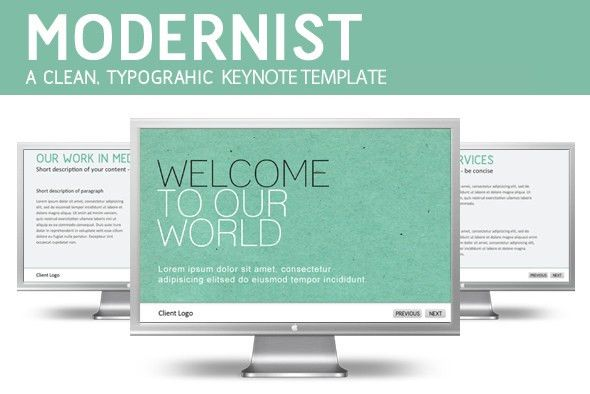 10 Beautiful Keynote Templates for Designers « Mac.AppStorm