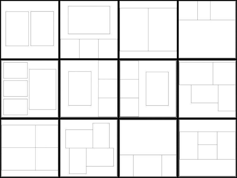 35 Album Templates for Lightroom 3 -10×10