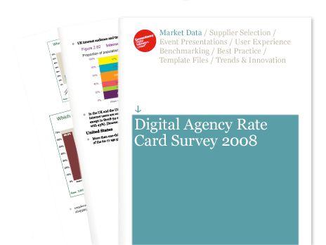 Rate Card Survey 2008: How much do UK digital agencies charge ...