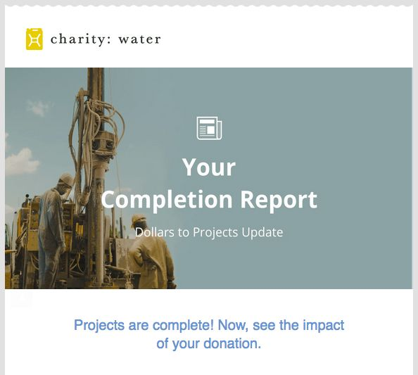 Project Completion Reporting: A Perfect Example of Donor Stewardship
