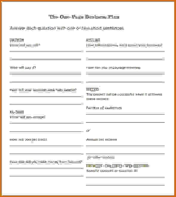 simple business plan template wordReference Letters Words ...