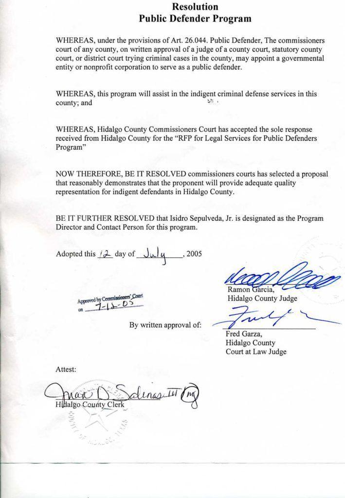 Public Defender Cover Letter