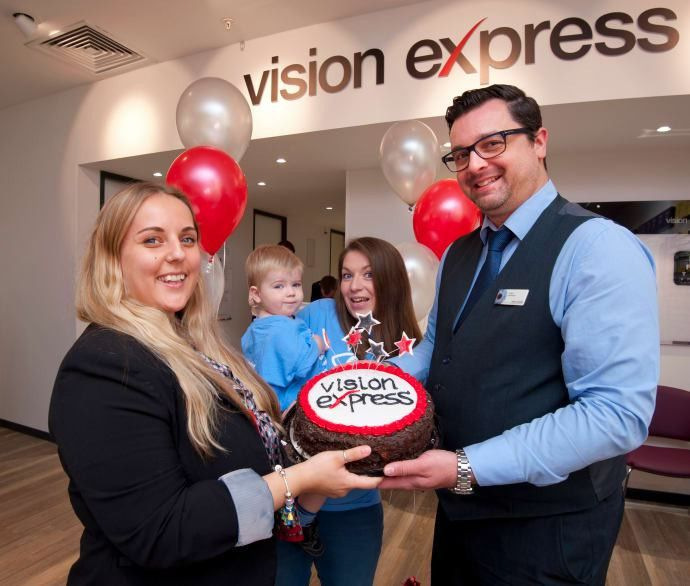Southampton optician welcomes 17-month-old eye cancer survivor as ...