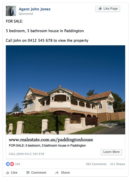 How to get smashing success from your Facebook property ads ...