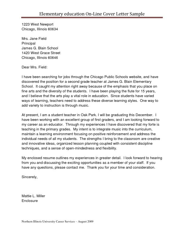 Cover Letter For School Counselor Examples - Cover Letter Templates