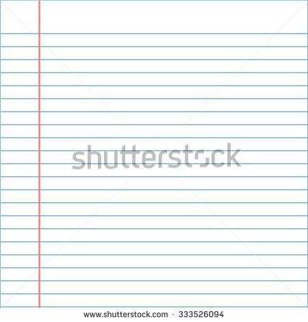 Notebook Paper Background Stock Photo 189689600 - Shutterstock