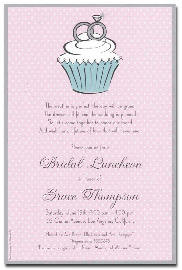 Wedding Shower Invitation Wording Ideas - iidaemilia.Com