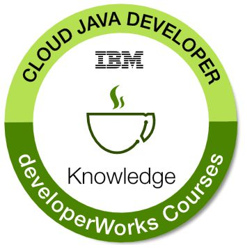 Badges: Cloud Java Developer - IBM Skills Gateway - Global