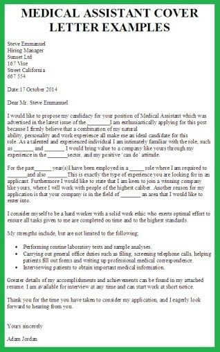 Medical Assistant Cover Letter | custom-college-papers